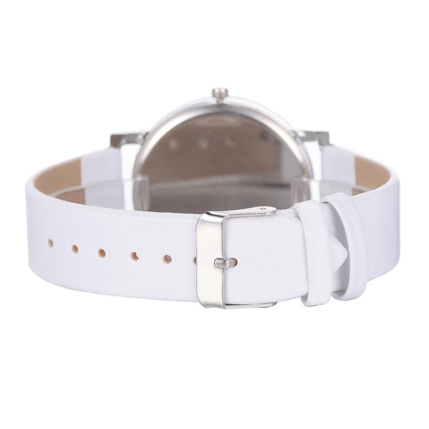 Fashion Women Watch Ladies Wristwatch Luxury High quality Quartz Leather Wrist Watch relojes mujer 2018 montre femme Gift #D 5