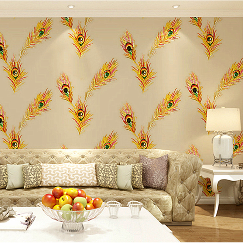 Contemporary Feather Wall Decor Image - Wall Art Collections ...