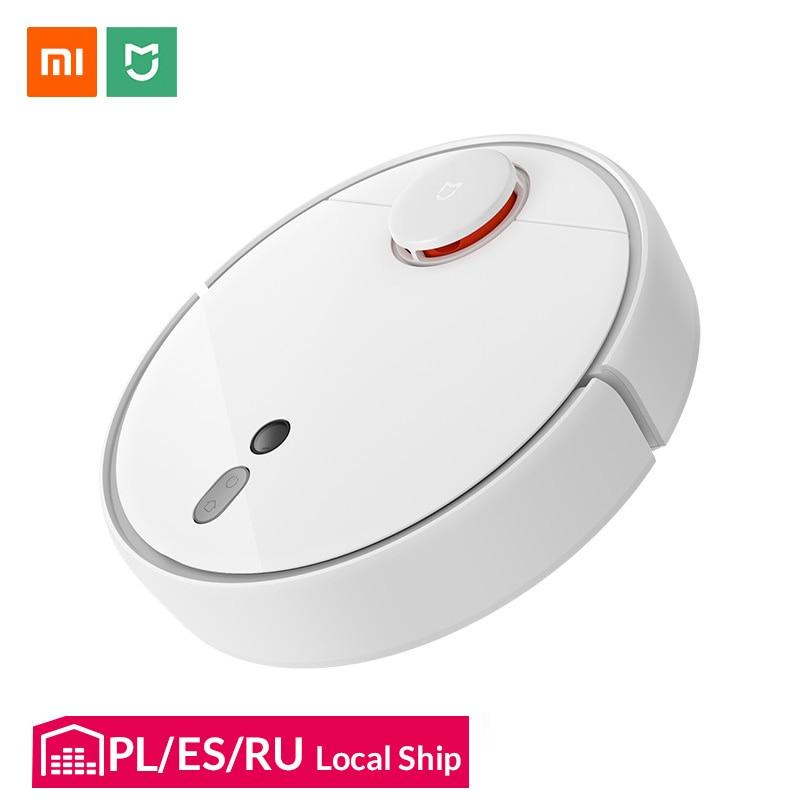 Aspirateur Robot Xiao mi mi 1 S pour la maison Charge de balayage automatique intelligent planifié WIFI mi jia APP nettoyeur de poussière à télécommande