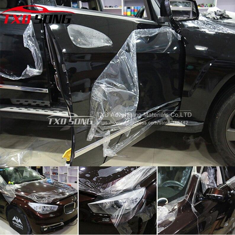 Супер качество, 3 слоя, прозрачная авто анти-царапина, Защитная пленка для авто, Защитная пленка для краски, Размер: 1,52*30 м/рулон