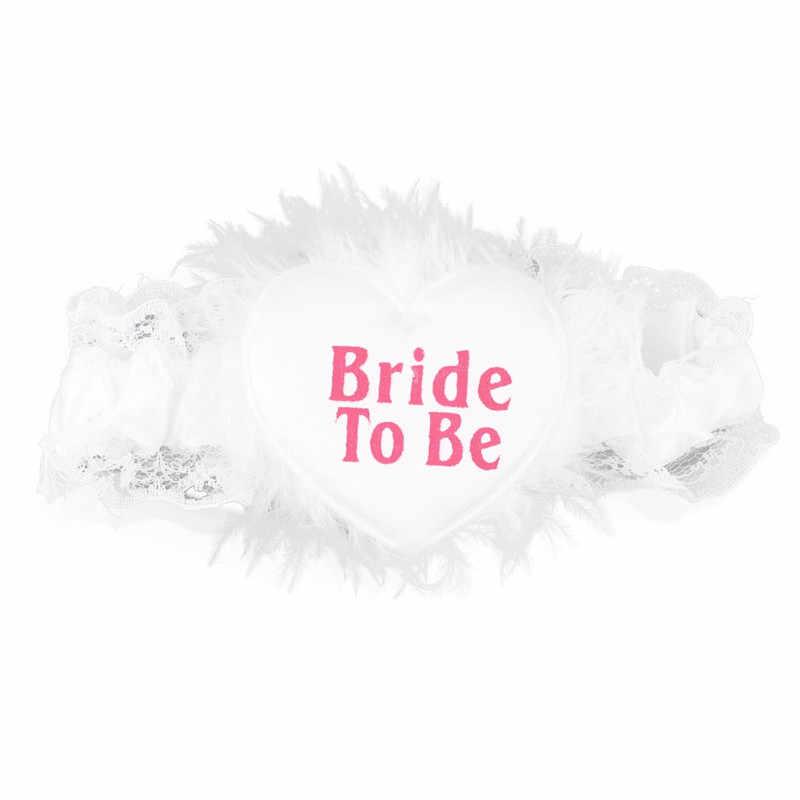 6 компл. атласный пояс Кушак значок-розетка подвязка вуаль с расческой Защита от солнца очки и перчатки из сетки свадебный душ свадебные аксессуары