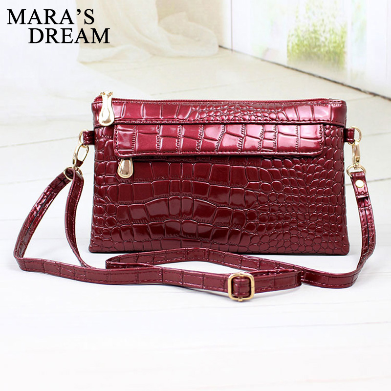 Mara's Dream Fashion Women Envelope Bag Small Ladies PU Leather Crossbody Bag Shoulder Bag Messenger bag Clutch Handbag Purses