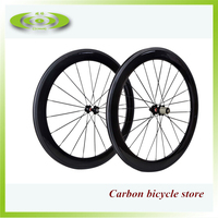 High quality 60mm carbon clincher wheelset 700c wheels bicycle wheels cheap cabon wheel
