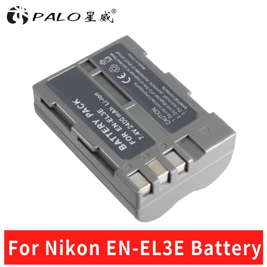 Palo EN EL3 EN-EL3E ENEL3E Camera Battery Pack for Nikon D90 D80 D300 D300s D700 D200 D70 D50 D70s D100 D-100 D-300 D-70 D-90 стоимость