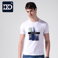 Dingdi Brand New Summer Style Cotton Men Clothing Male Slim Fit T Shirt Man T Shirts