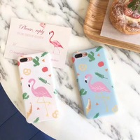 Hot Cute Candy Macaroon Color Pastel Pink Flamingo Soft TPU Slim Cover For IPhone 6 S