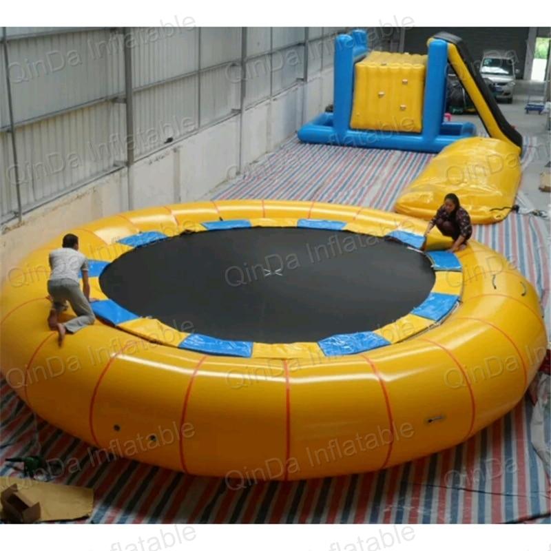 Amusement park rides Gonfiabile gigante/gonfiabile parco acquatico/Trampolino Gonfiabile Dell'acqua