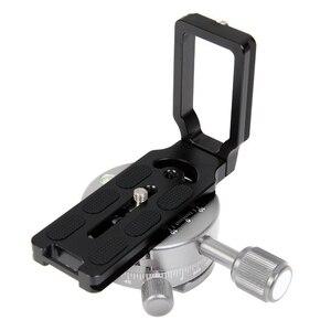 Image 3 - EDT Universal MPU100 سريعة الإصدار L لوحة قوس للكاميرا Benro Arca السويسري (أسود)
