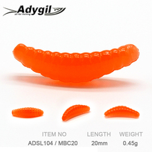 ADYGIL Fishing Lure Soft Lure Silicon Bait Soft Bait ADSL104/MBC20 100pcs 20mm 0.45g