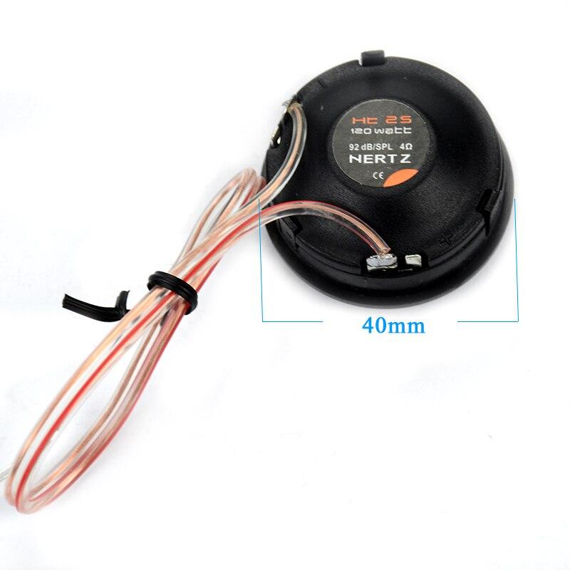 AIYIMA 1 комплект твитер аудио динамик s Портативный динамик мощность громкие купольные динамики для автомобиля 4ohm 120 Вт HT-25