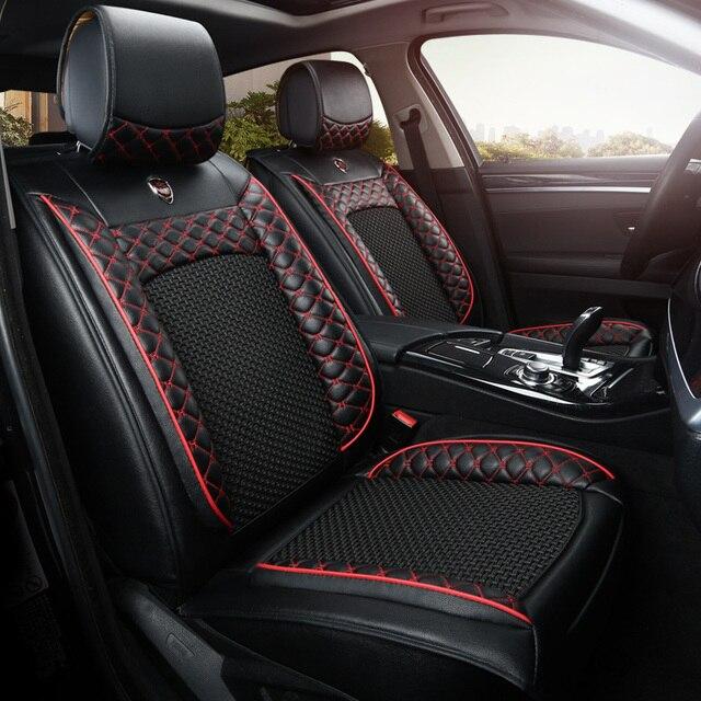 Cuero artificial auto universal fundas de asiento de coche para kia cerato sportage sorento rio - Fundas para auto ...