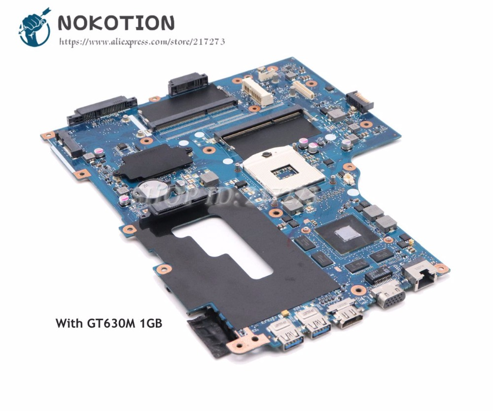 NOKOTION NBRYN11001 VA70 VG70 Mainboard Laptop Motherboard Para Acer Aspire V3-771 HM77 DDR3 GT630M 1 gb