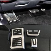 Interior del coche resto pedal de Embrague del Freno del Combustible EN pedales para Skoda Kodiaq para Volkswagen vw TIGUAN 2016 2017 auto accesorios