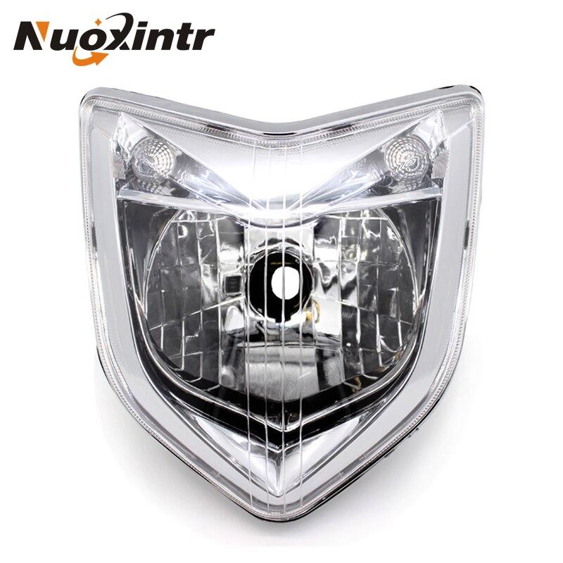 Nuoxintr мотоцикл фара передняя ABS головного света для Yamaha FZ1 FAZER 2006 2007 2008 2009