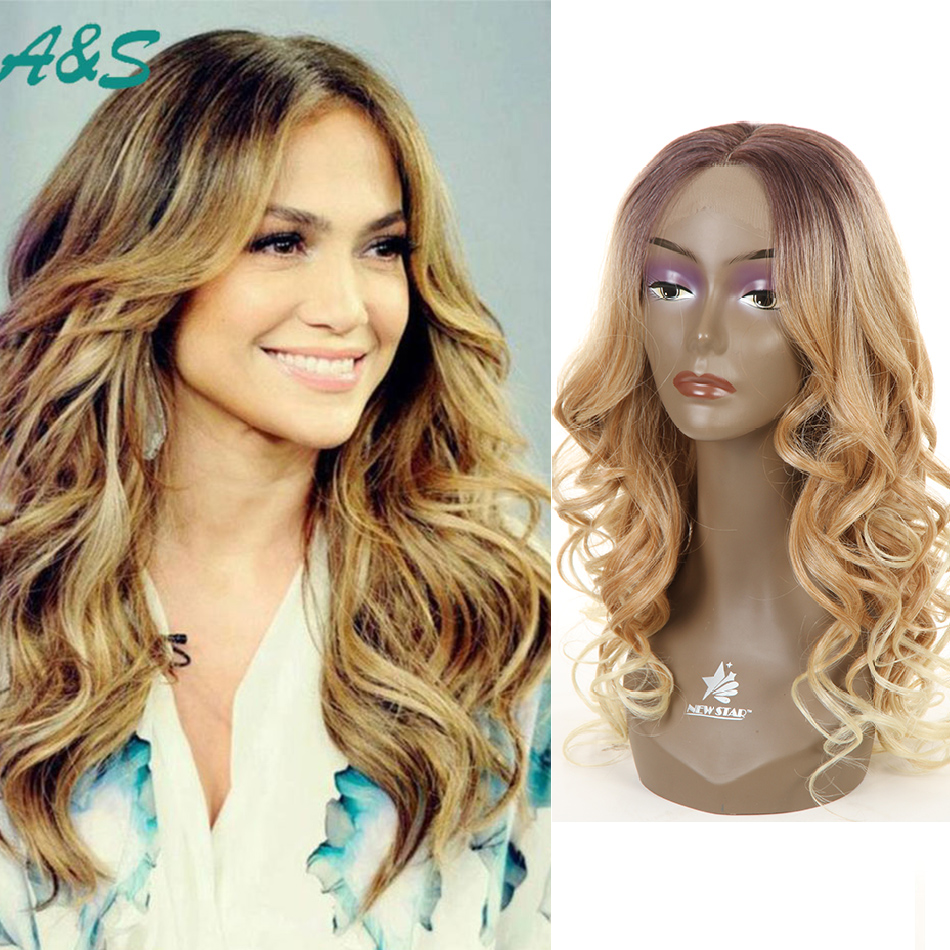 26 inch Jennifer Lopez hair cut ocean wavy cosplay wig synthetic lace front wig two tone ombre wig braided lace front wigspruik jennifer lopez live luxe w edp 100 мл