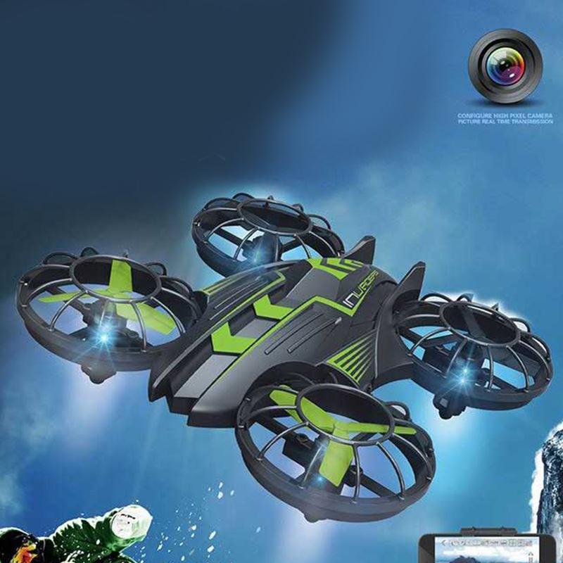 Le plus nouveau Drone JXD 515 W envahisseurs UFO WIFI FPV Drone 2.4 GHz Drone avec caméra mis en Mode haut de gamme Mode sans tête RTF pour les meilleurs cadeaux - 3