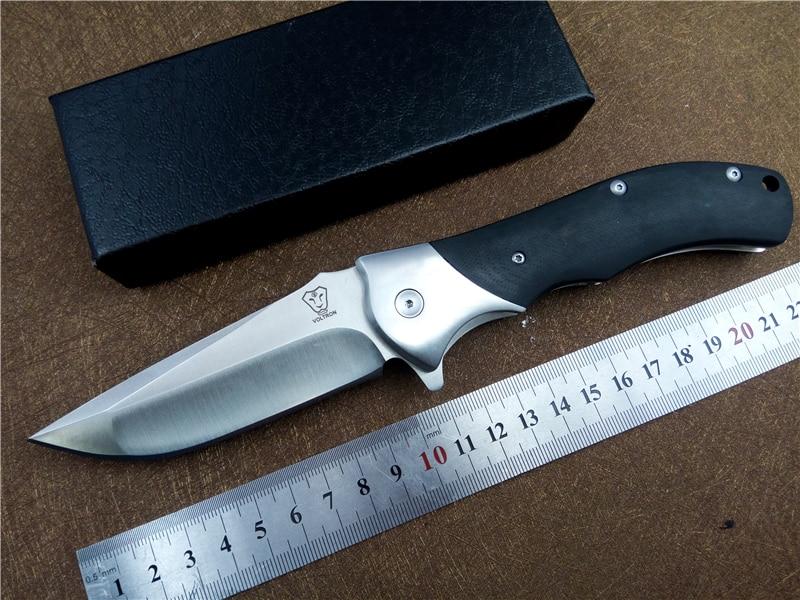 KESIWO Black Shark Pocket Utility Camping Knife EDC Folding Knife 8cr13 Blade Outdoor Tactical Survival Knife