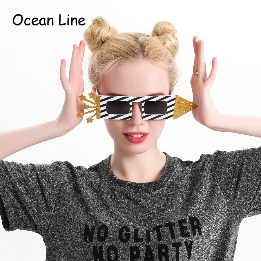 Novelty Adults Gold ROCK Sunglasses Funny Birthday Party Eyewear Costume
