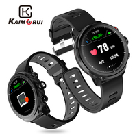 Kaimorui Smart Watch Men IP68 Waterproof Pedometer Heart Rate Monitor Fitness Tracker Smartwatch for Android and IOS Phone