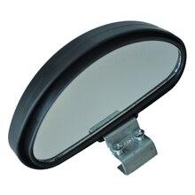 Promotion! Black Plastic Casing Car Side Blindspot Blind Spot Mirror Wide Angle View