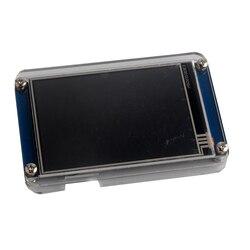 Nextion 3.5 polegada hmi lcd tela de toque módulo nx4832t035 + transparente caso claro para arduino raspberry pi versão básica