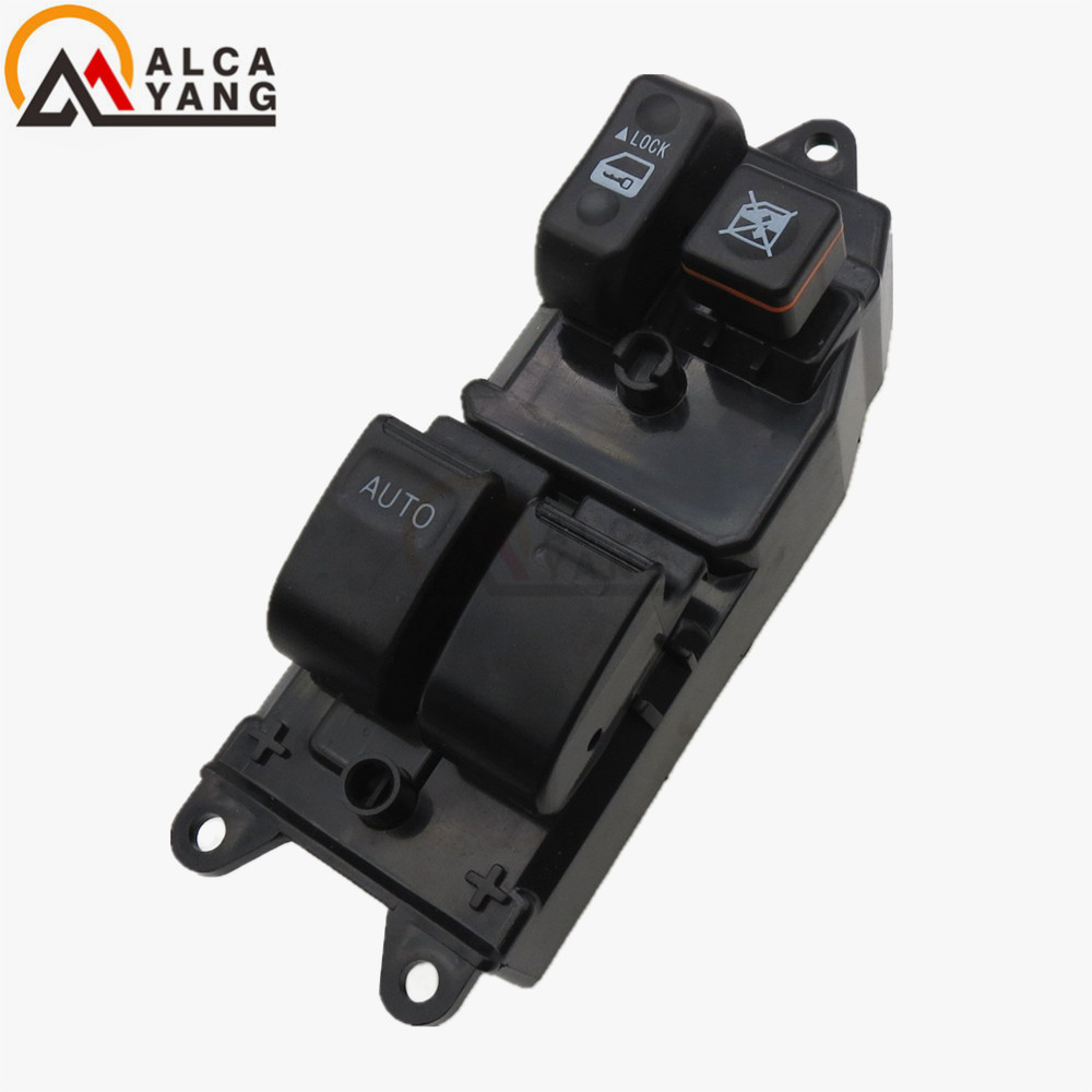 Front Left Driver SideNew Electric Power Window Switch Master Control Switches 84820-52090 for Toyota Yaris Echo Verso front left electric power window lifter master control switch for bmw 61319241915 6131 9241 915