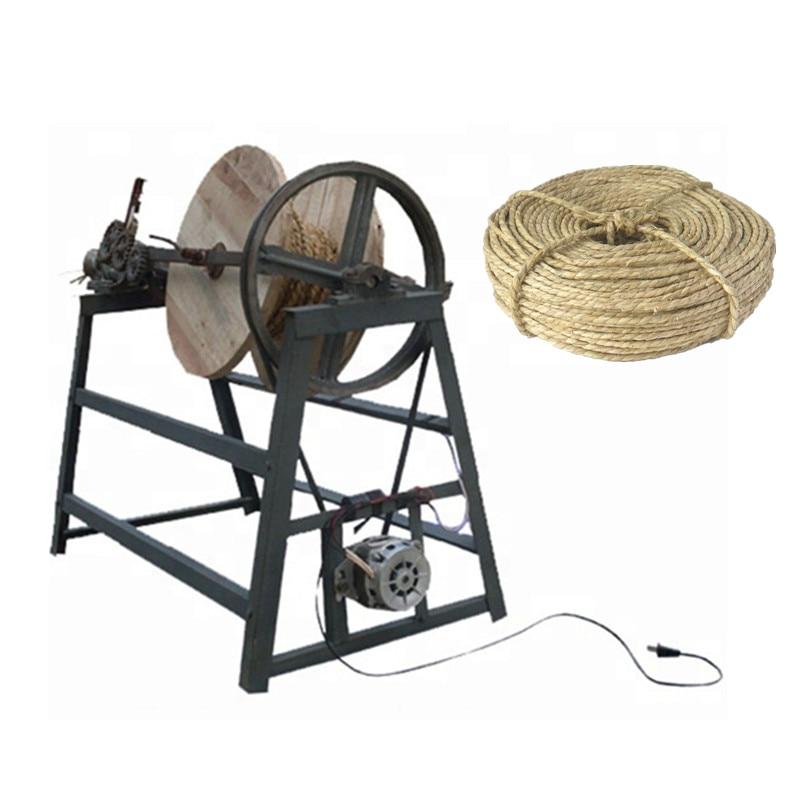 Automatic Straw Rope Machine Paddy Stalk Straw Rope Making Machine