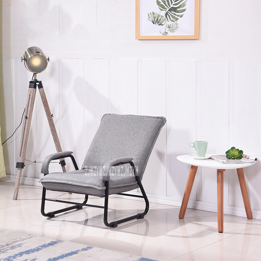 010HCHS Single Folding Chair Living Room Sofa Computer Lazy Couch Simple Modern Balcony Bedroom Sofa Quality Small Sling Chair