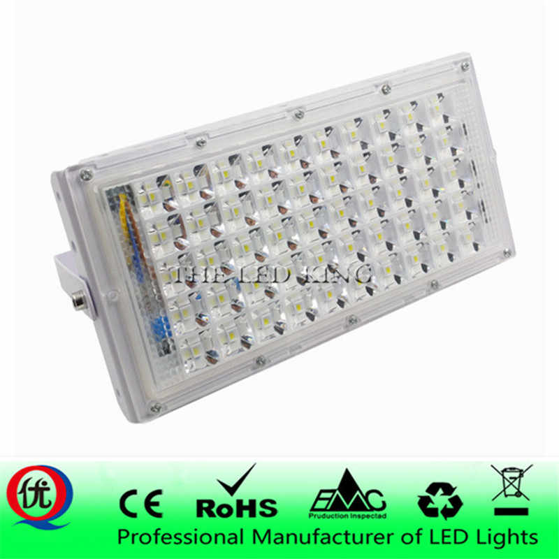 Waterproof IP66 LED Flood Light 10W 30W 50W 100W Projector 110V 220V Outdoor Security Landscape Floodlight Wall Spotlight Chip