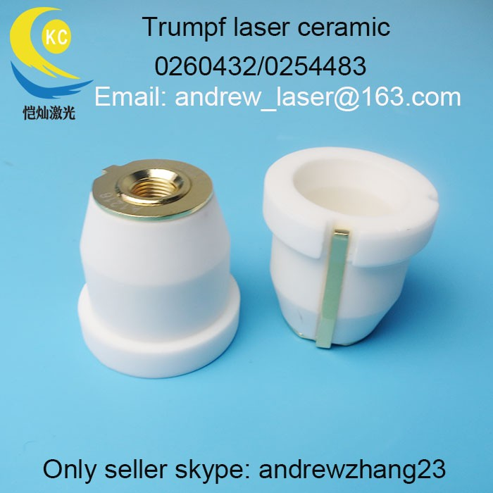 high quality TRUMPF Laser Ceramic Nozzle Holder 0254483-260432 For TRUMPF Laser Fiber Cutting Head Free Shipping agents wanted trumpf laser protective mirrors windows 34 5mm for ipg trumpf fiber laser cutting machines 1070nm