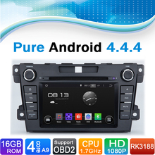 For Mazda CX 7 Pure Android 4.4.4 Car DVD GPS Navigation for Mazda CX-7  for Mazda CX7 2012