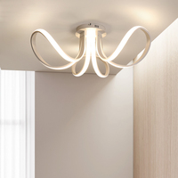 Новый дизайн светодио дный современные светодиодные потолочные лампы для гостиной спальни освещение потолочная комната свет plafondlamp светод