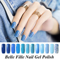 8ml UV Gel Nail Polish Blue series Nail Polish Gel LED Light UV Manicure for Gel Nail Bluesky Color Fingernail Polish