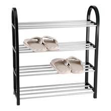 Zapatero de pie de Metal y aluminio, estante de almacenamiento para zapatos DIY, organizador para el hogar, accesorios, zapatero