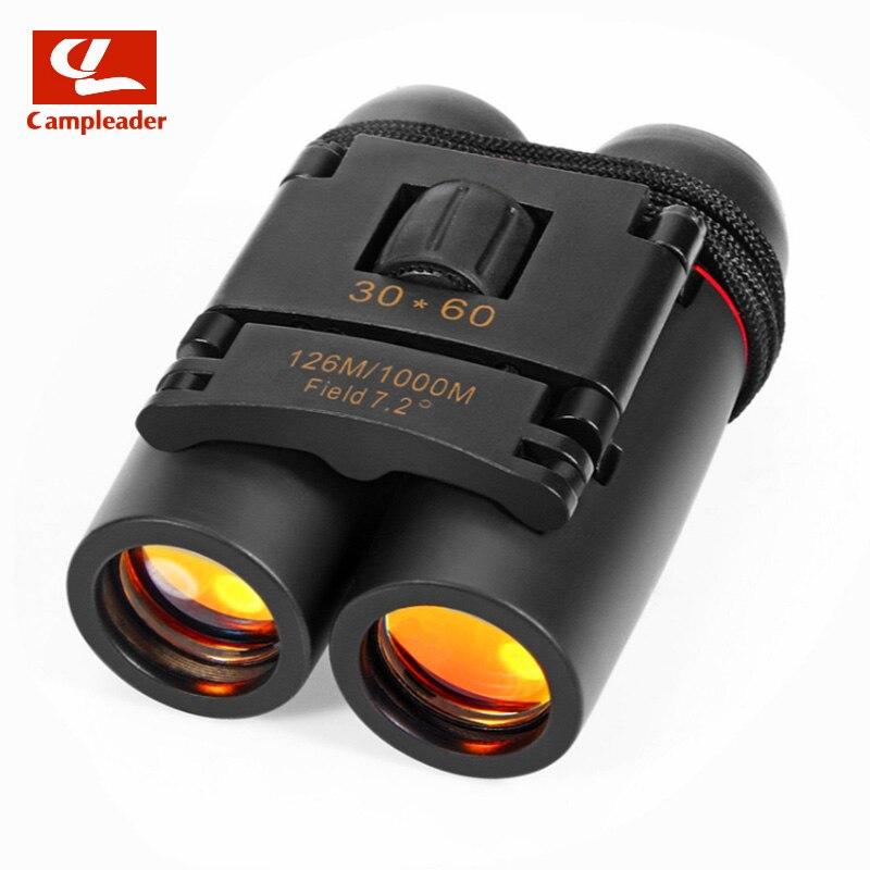 Campleader Sakura Binoculars Black Blue Film 30X60 HD Wide Angle Portable HD Wide-angle Portable Low Light Night Vision CL149
