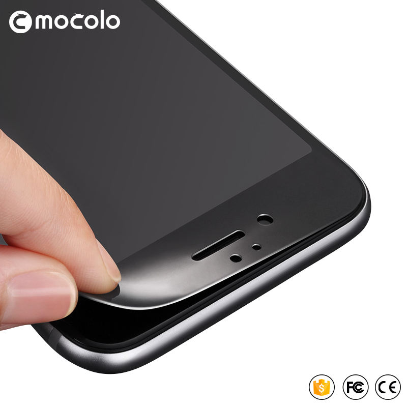 MOCOLO 9H 0.26mm 2.5D Zaokrąglone szkło hartowane powlekane do iPhone 6 6S Plus Folia ochronna do telefonu iPhone 7