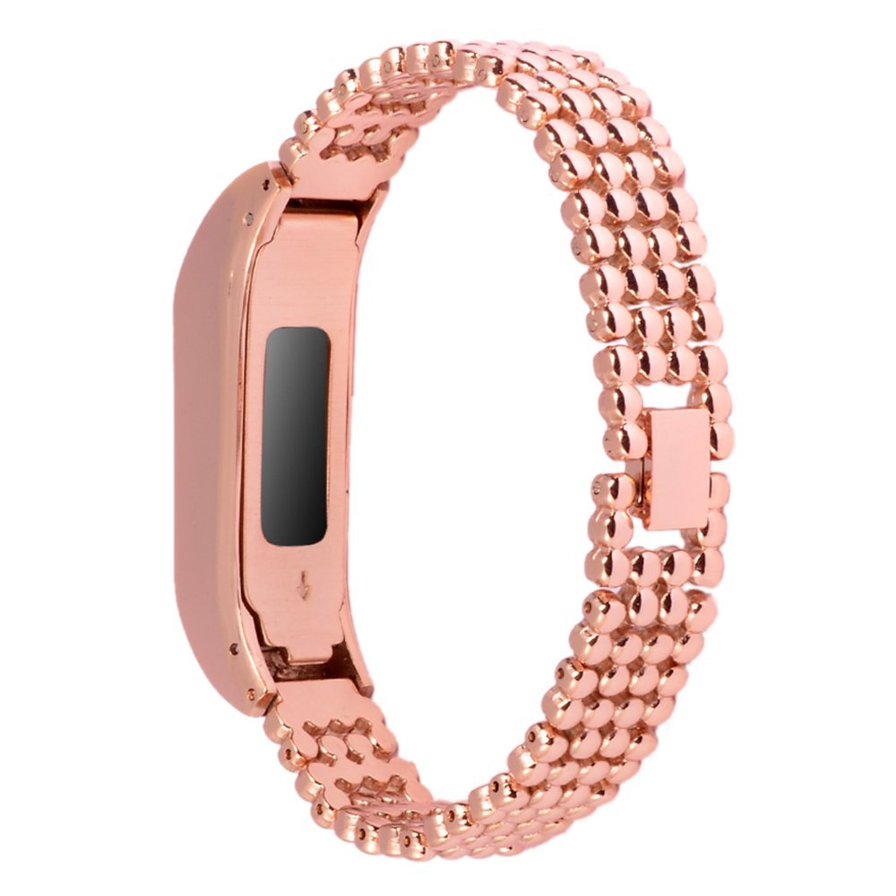 HOT Metal Replacement Casual Flex Smart Watch Strap With Stainles Steel Buckle ONLY For Fitbit Fitbit