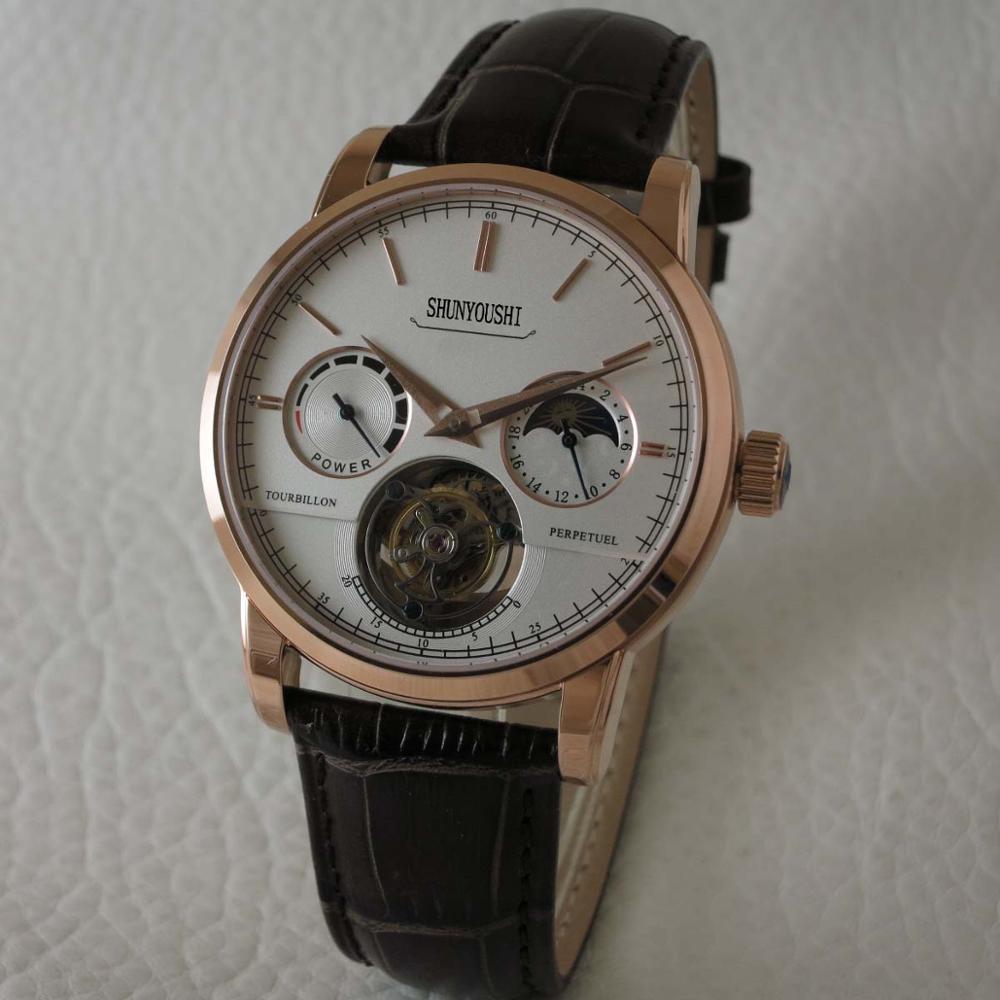 WG06229 Mens Orologi di Marca Top Pista Di Lusso Europeo di Design Orologio Meccanico Automatico