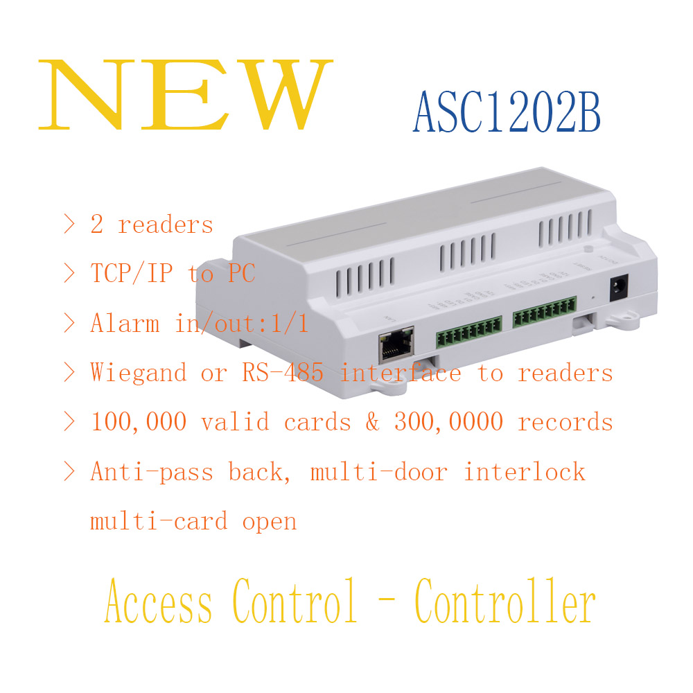 ФОТО DAHUA Access Control Controller Two Door Access Controller Without Logo ASC1202B