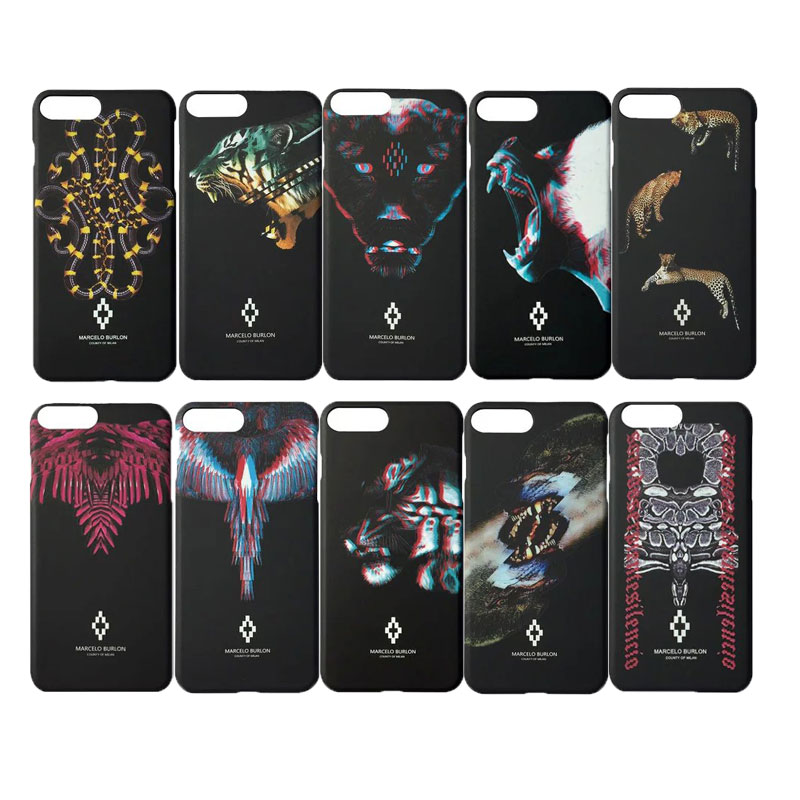 New 2017 Case for iPhone 6 6S 5S 7 7 Plus Marcelo Cover Leopard Tiger Snake PC Case for  ...