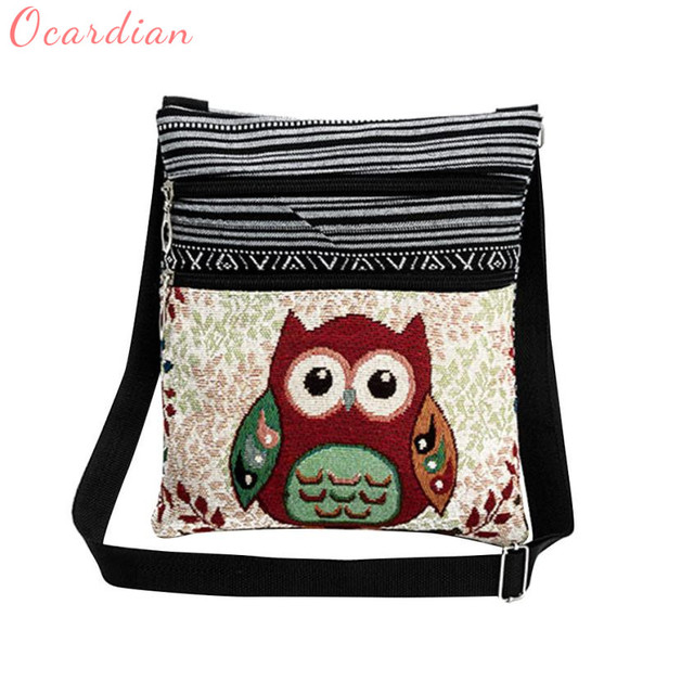 Owl Pattern Women Handbags Shoulder Messenger Bags For S Female Crossbody Bag 0104 In Top Handle From Luggage On Aliexpress