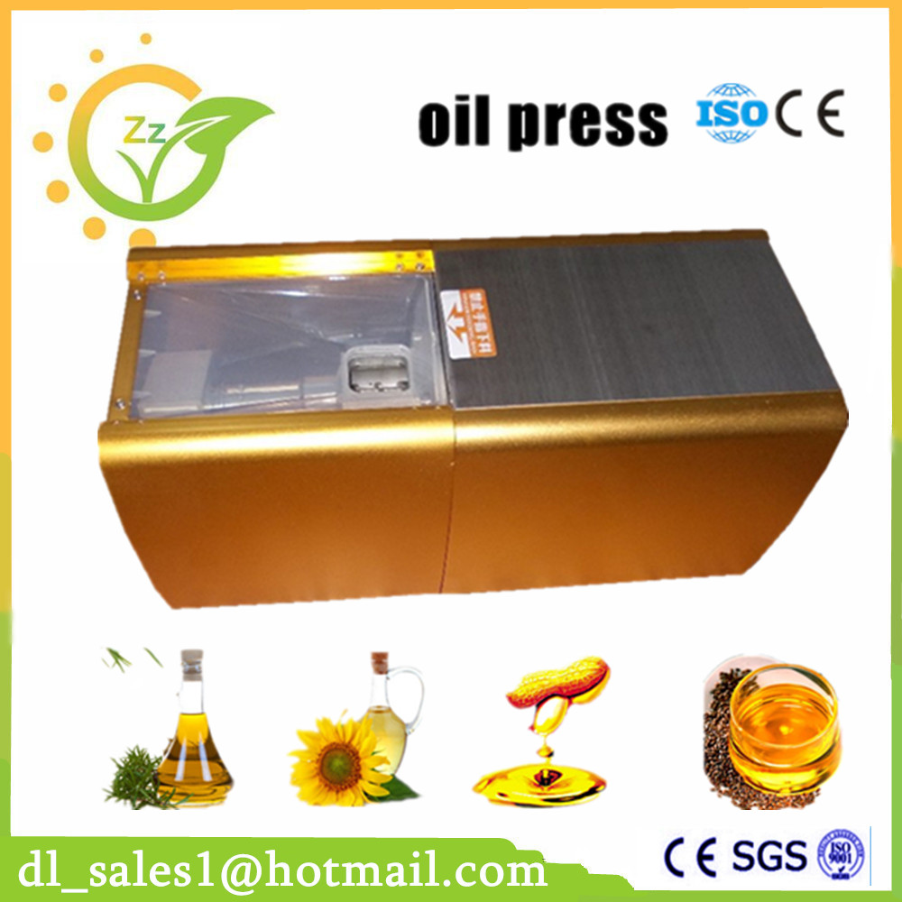 Cold Hot Oil pressure Commercial Stainless steel Oil press machine Peanut oil maker 220V/110V suitable for Sesame Almond