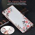 Flores de luxo diamante tpu case para xiaomi mi 5S plus 5 4 4S 4c 4i mi5s mi5 mi4 redmi 4 mix 3x principal nota 4a 4 3 2 pro 3 s cobrir