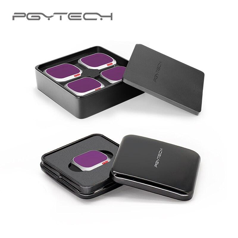 Pgytech Mavic 2 Pro Набор светофильтров для камеры ND8/16/32/64-PL ND8/16/32/64 фильтры Комплект для DJI Мавик 2 про фильтр аксессуары
