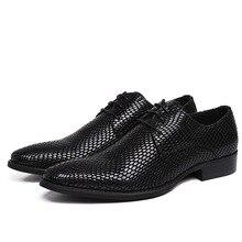 Vintage Pointed Toe Man Formal Dress Shoes Genuine Leather Footwear British Carved Men's Handmade Oxfords Shoes JS-A0077 цены онлайн