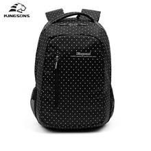 Softback моды школьный рюкзак женщин мешок детей в горошек для отдыха корейские женские рюкзак для ноутбука дорожная сумка для девочки-подростка
