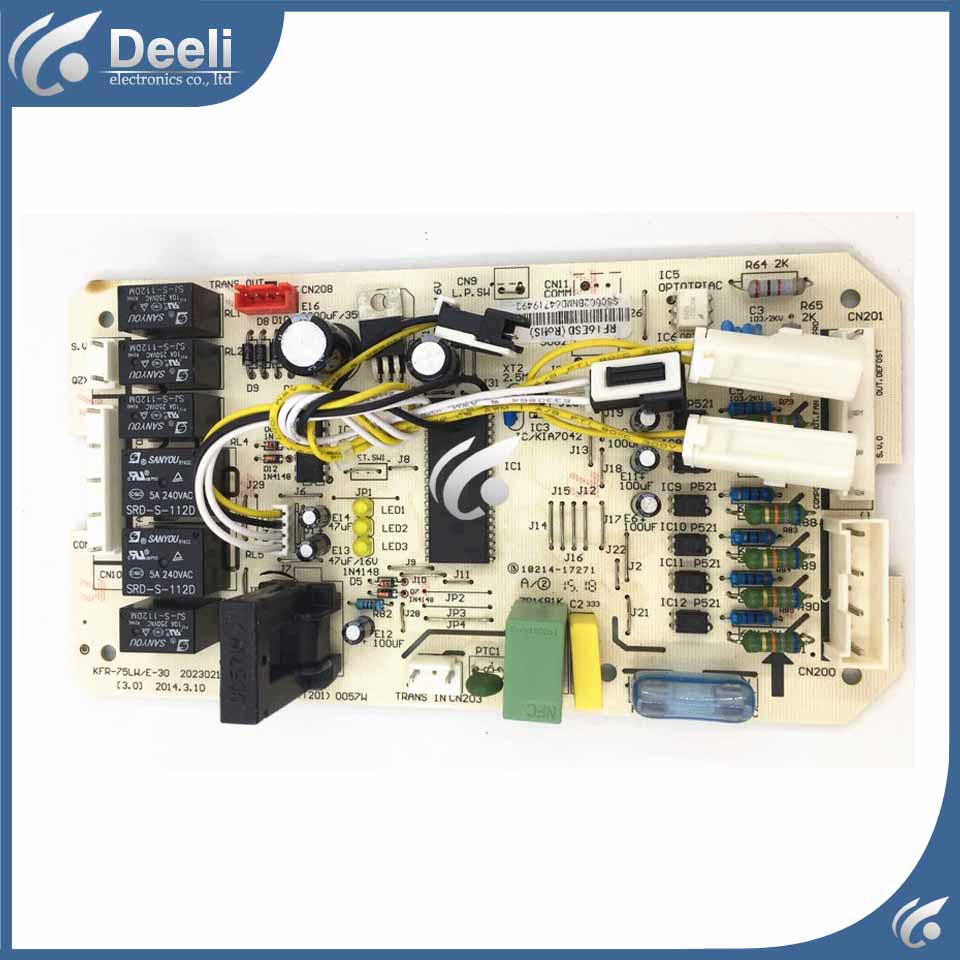 Good Working New For Air Conditioning Computer Board Kfr 75lw E 30 Traditional Wiring Method Of An Npn Proximity Sensor Without Using Plc Hi Friend When You Confirm The Order Pls Made Sure Your And Model Is Same Whit Us If Not Send Thephoto To Checkthanks