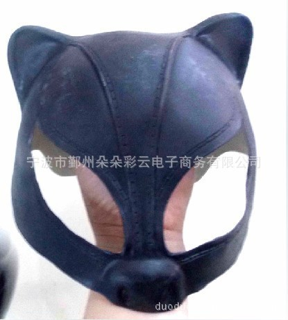 Catwoman Latex Masks Halloween latex catwoman mask cosplay ...