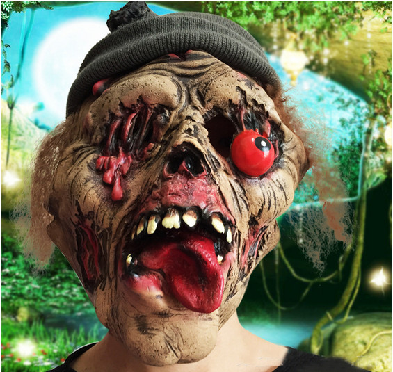 Aliexpress.com : Buy Funny Halloween Mask With Big Red Drop ...