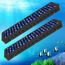 2PCS Marshydro 300W HA CONDOTTO LA Luce Dell'acquario per la Barriera Corallina Marino(China)